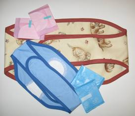 Diapers Belly Band for male dogs